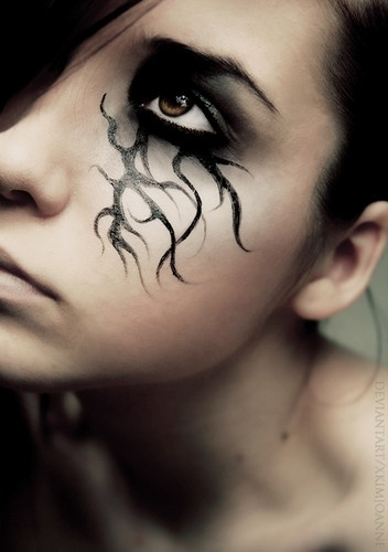 face painting for Halloween for women