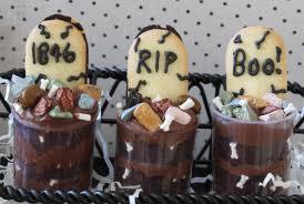 pudding halloween