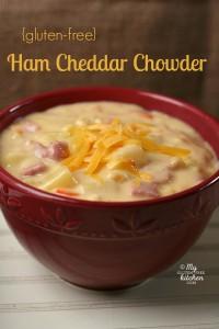 ham cheddar chowder soup