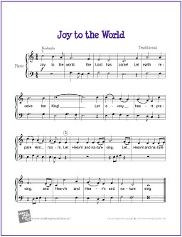 joy to the world lyrics