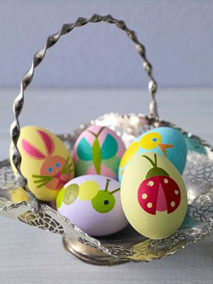 Cute designs on Easter Eggs for Kids Learn how on Family Circle