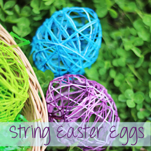 String Easter Eggs Photo Source