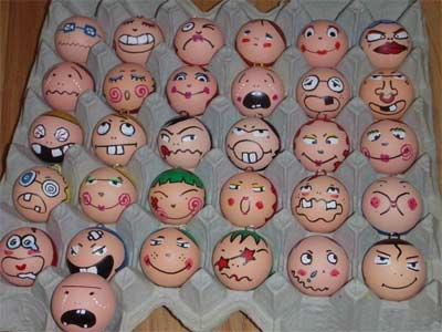 Silly Easter Egg Decorations Photo Source
