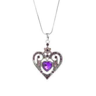 Valentine's Day Purple Necklace