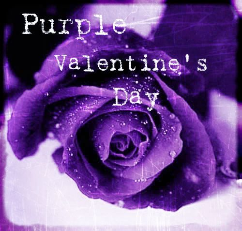 Purple Valentine's Day