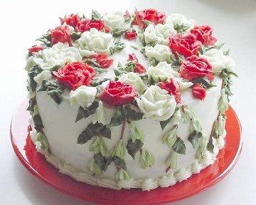 Scrumption Victorian Valentine's Day Cake