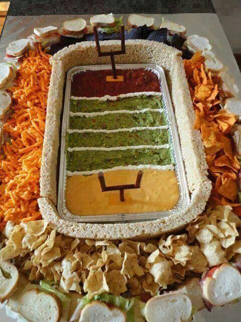 Fun Football Platters