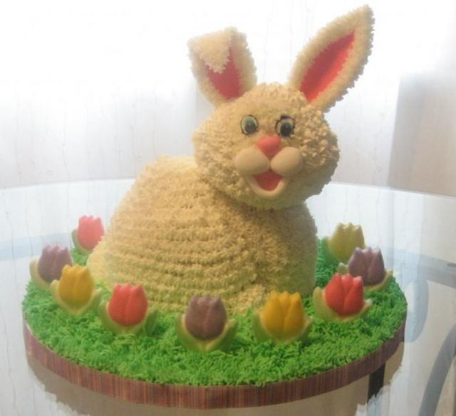 Bunny Rabbit Cake Stand