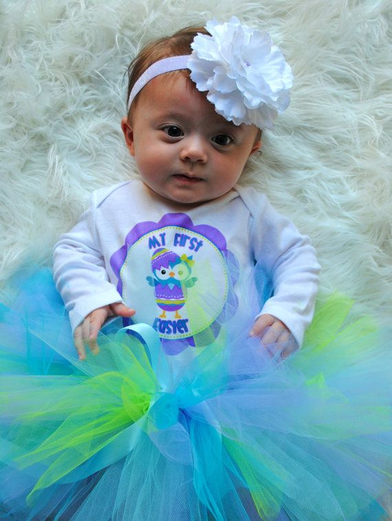 Babys first easter time for the holidays cute first easter baby pictures found on pinterest negle Images
