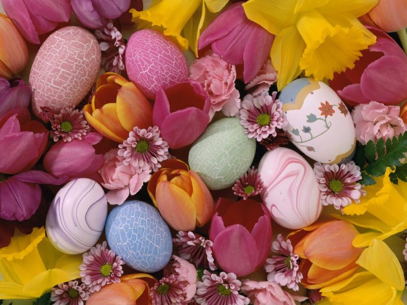 Floral Easter Screensaver