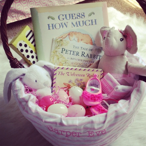 vintage easter baskets