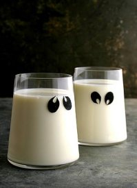 Ghostly Shots for Halloween Click Here for Recipe