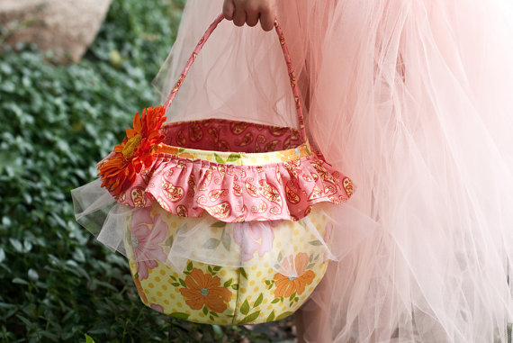 shabby chic easter basket