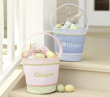 Personalized Easter Basket Photo Source