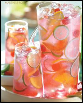 Raspberry Tequila Sangria Find Recipe Here