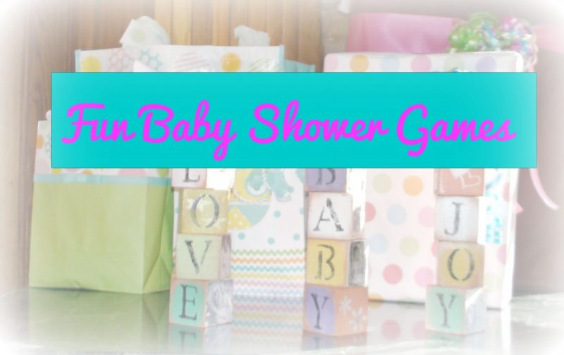 games to play at a baby shower here is a list of different games