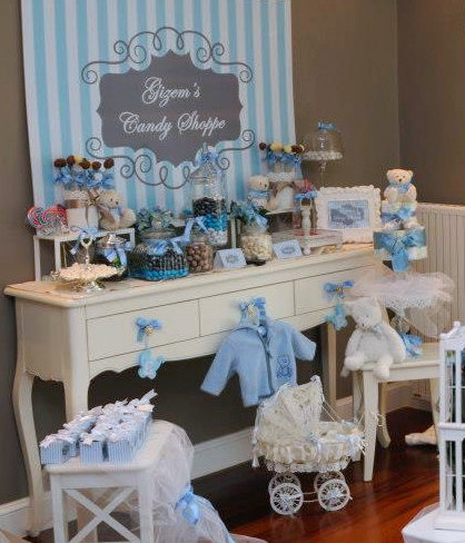 Shabby Chic Baby Shower Time For The Holidays