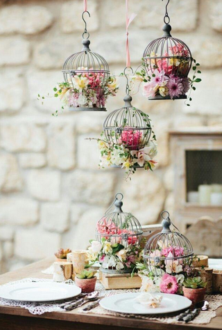 birdcages for wedding
