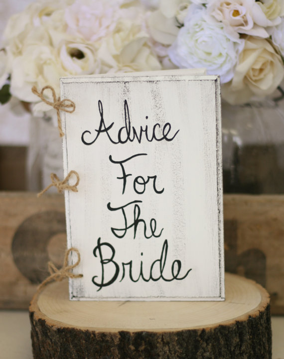 Advice for the Bride Vintage Book Purchase at Braggin Bags