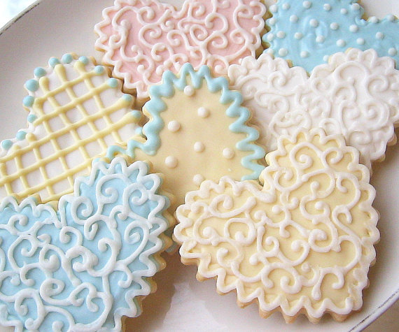 Aweswome Wedding Cookies by Sugar Me Dessertierie