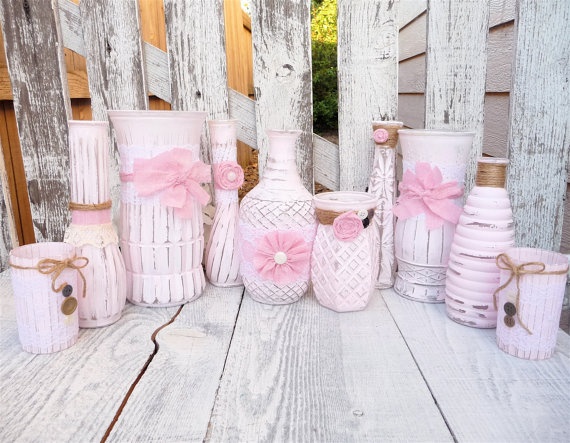 Shabby Chic Wedding Decor can be purchased at So Frickin Cute