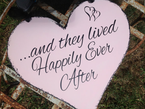 And They Lived Happily Ever After by Castle Inn Designs