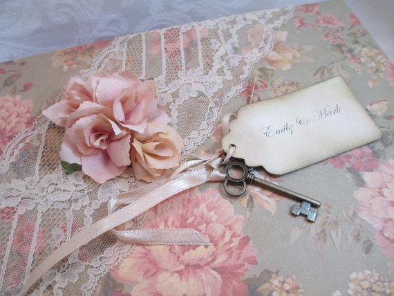 Vintage Wedding Card Box by The Memory Keeper Box