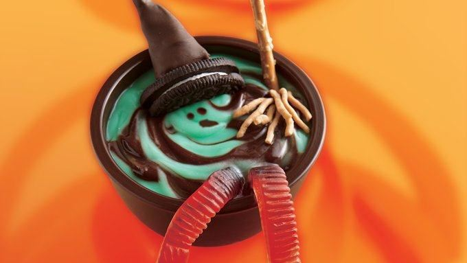 Melting Witch Pudding Cups Get Recipe Here!