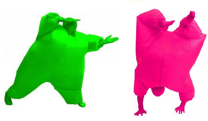 weird costumes