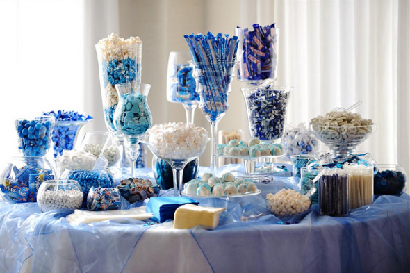 blue candy bar