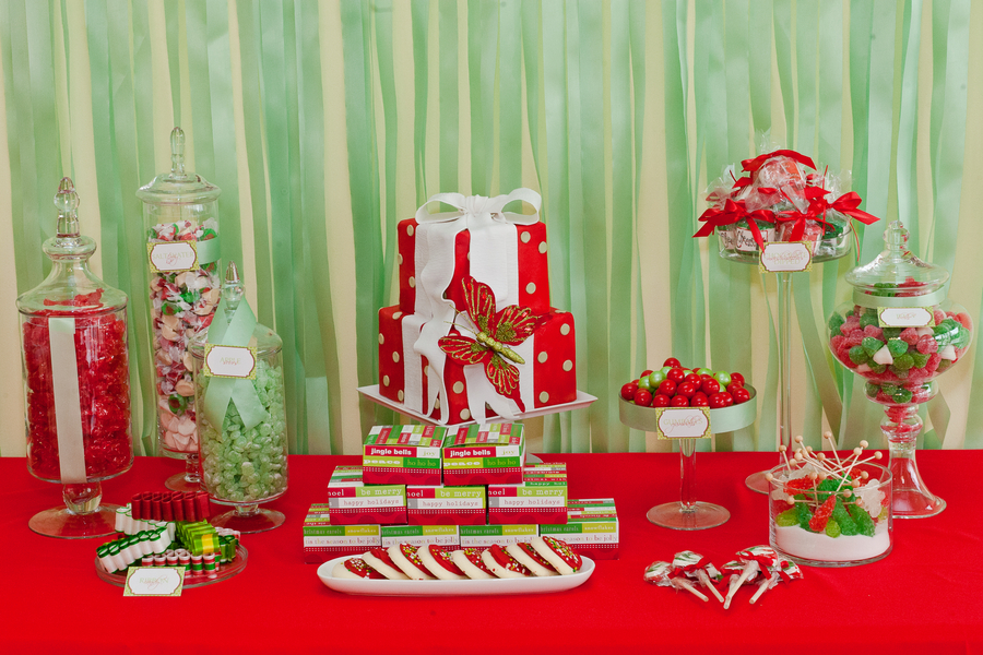2011 Holiday Desert Table