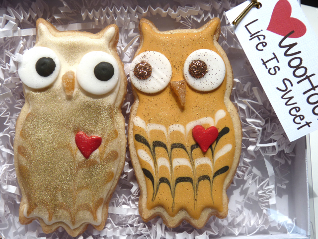 SDB-golden-lovebird-owl-cookies