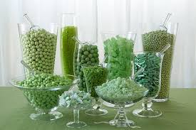 green candy bar