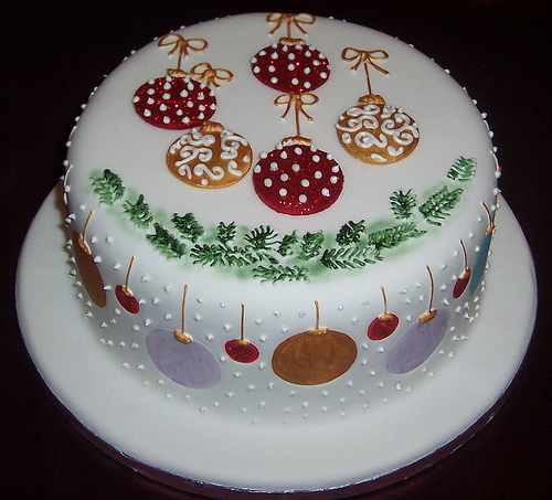 Design A Cake Christmas Opening Times : Pretty Christmas Cakes Time for the Holidays