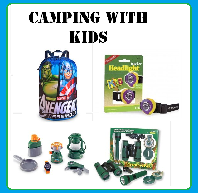 Cute Camping Gear For Kids Time For The Holidays