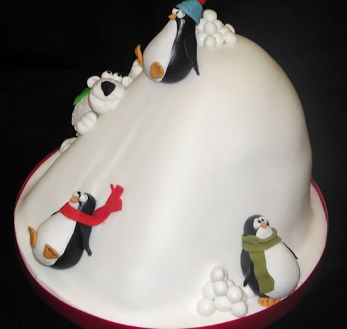cute-penguin-cake