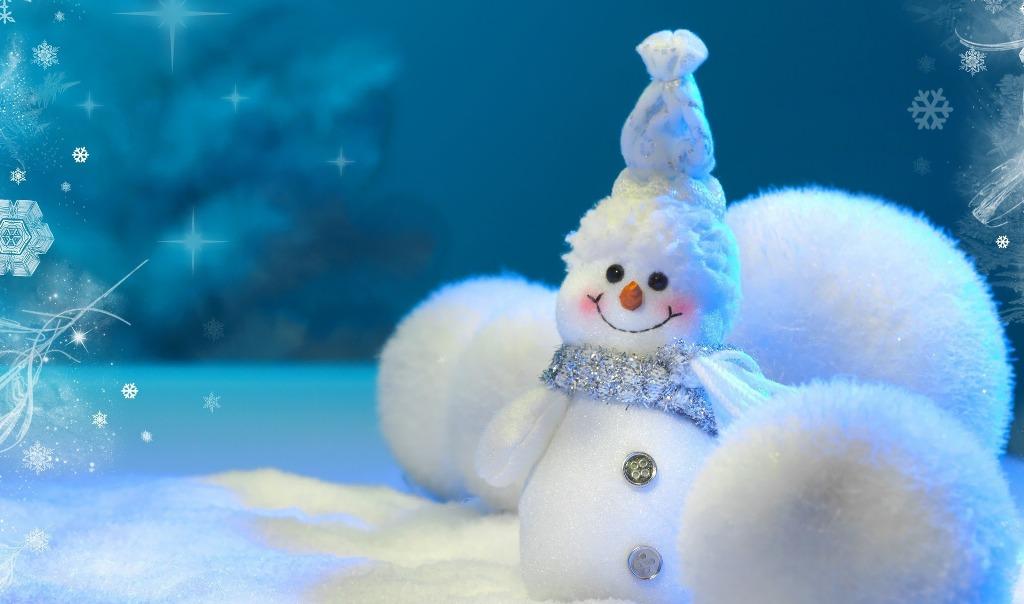cute snowman making ideas