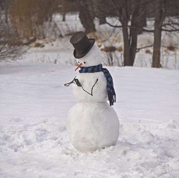 snowman-smartphone