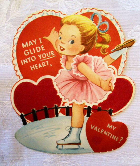Vintage-1950s-Figure-Skater-Valentines-Day-Card