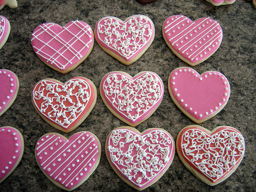 valentine's day cookies | time for the holidays, Ideas