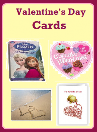 Frozen Valentines Day Cards