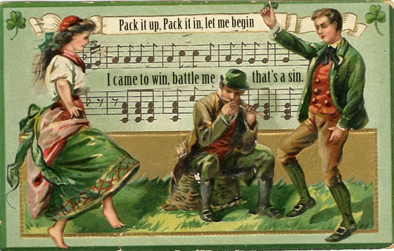 vintage st patricks day graphics