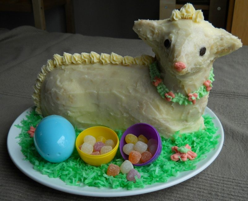 Easter Lamb Cake II Recipe — Dishmaps