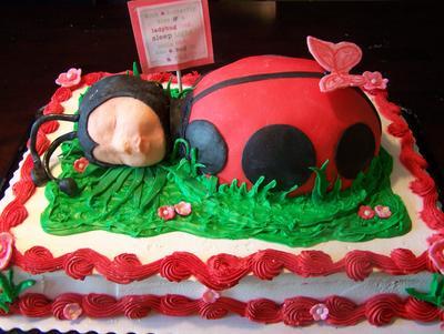 cute ladybug cake by