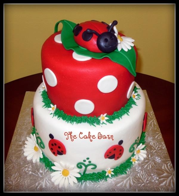 ladybug-baby-shower-cake
