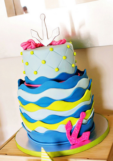 baby-girl-nautical-cake