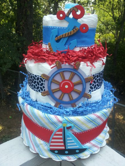 nautical-baby-diaper-cake
