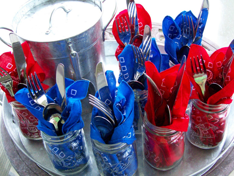 bandana-mason-jars