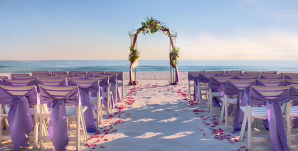 Beachy Wedding Time For The Holidays