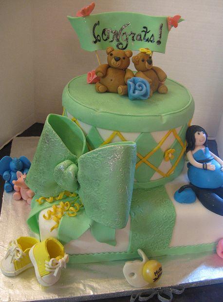 congrats-cake-baby-green